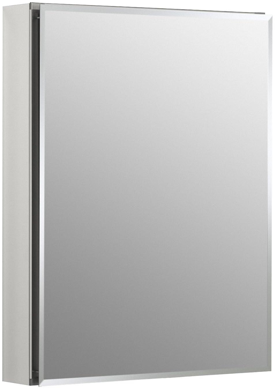 KOHLER K-CB-CLC2026FS Frameless 20 inch x 26 inch Aluminum Bathroom Medicine Cabinet; ; Recess or Surface Mount