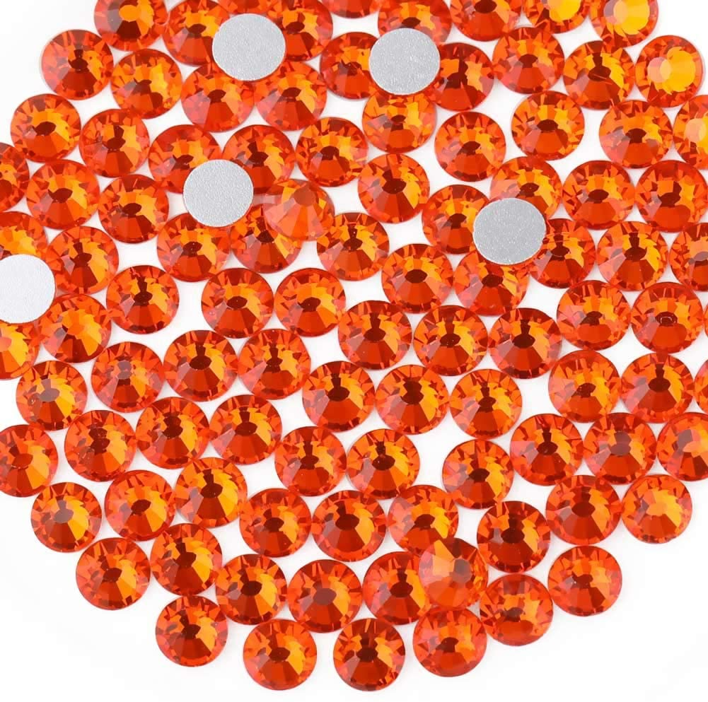 Beadsland overseas 1440 Piece Manufacturer direct delivery Flat Back Round Rhinestones Gems Crystal 1.