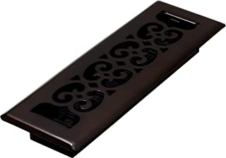 Decor Grates SPH210-RB Scroll Plated Register, 2-Inch by 10-Inch, Rubbed Bronze