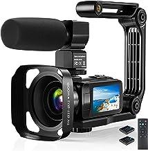 Video Camera Camcorder, 2.7K Ultra HD YouTube Vlogging...