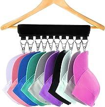 Hat Hanger Cap Holder Organiser Australia - Storage for 10 Caps, Hats – For Wardrobe Coat Hangers – Keep Your Baseball Bas...