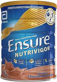 Ensure Nutrivigor - Complemento Alimenticio para Adultos. con HMB. Proteínas. Vitaminas y Minerales. como el Calcio - Sabor Chocolate - 850 g
