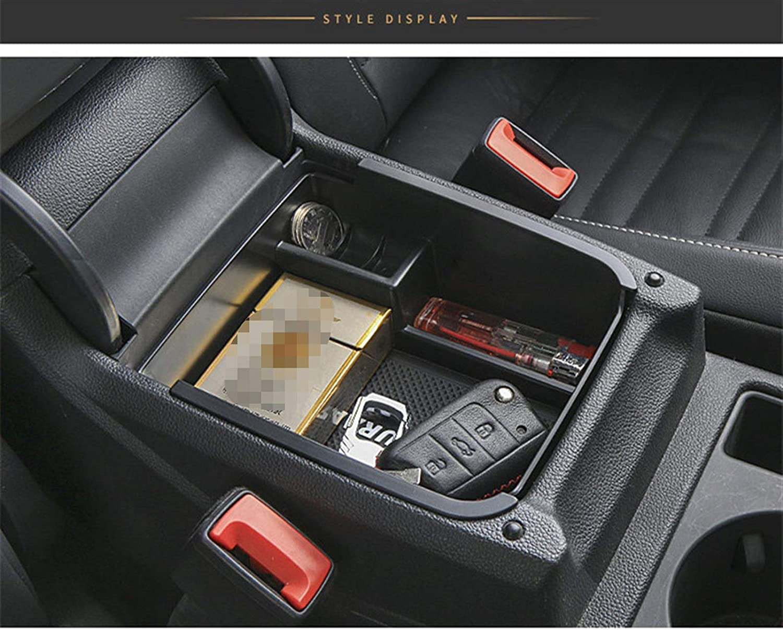 Color Name : Black LXYL Auto Zentralkonsole Armlehne Fit f/ür VW Touran 2016 Aufbewahrungsbox Halter Organizer Fach mit Matte Auto Innenausstattung Ersatz 125
