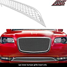 APS Compatible with 2015-2020 Chrysler 300C 300S Without Cruise Control Bumper Stainless Mesh Grille N19-S97367R
