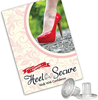 High Heel Protectors (3 Sizes) Stop Sinking Heels Perfect for Everyday & Formal Wear 3 Sizes