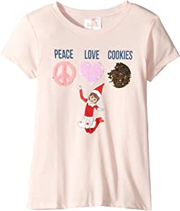 Magical Two-Way - Peace Love Cookies - Short Sleeve (Toddler/Little Kids/Big Kids)
