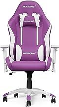 Cadeira de jogos AKRacing California PP extra pequena, giratória, mecanismo de ajuste de altura do assento e balanço com ...