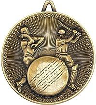 """Lapal Dimension Cricket Deluxe Medaille - Antiek Goud 2.35"""""""