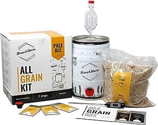 Brew & Share | Kit de bière Pale Ale | Votre bière en 2 semaines. Élaboration avec des malts. Fermentation en fût. Matéria...