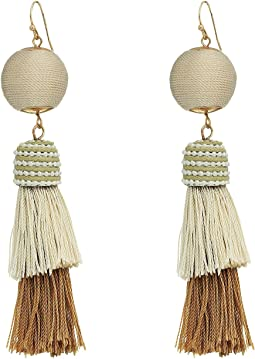 SHASHI - Freya Tassel Earrings