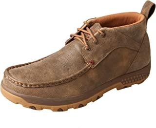 Men's CellStretch Driving Mocs Casual Lace-Up Chukka Boots - Bomber