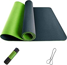 Yoga Mat, TPE Non-Slip Pro Yoga Mats for Women and All Yoga Lovers, Pilates&Floor Exercise