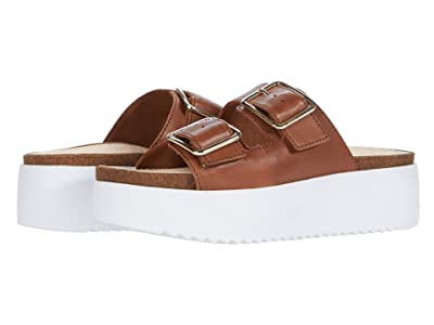 Clarks Botanic Slide (Dark Tan) Women
