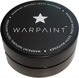 WARPAINT Charcoal Teeth Whitener Whitening Australia 100% Natural Vegan