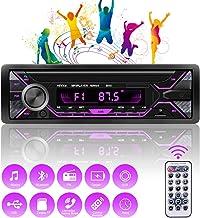 RIRGI Autoradio Bluetooth, Radio de Coche 4 x 60W, Soporta