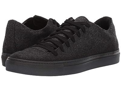 John Varvatos Collection Reed Low Top Sneaker (Mineral Black) Men