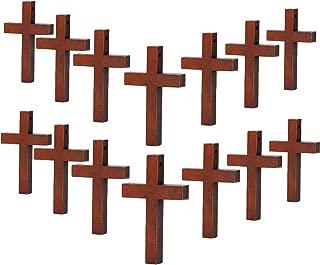 plain wooden cross necklace