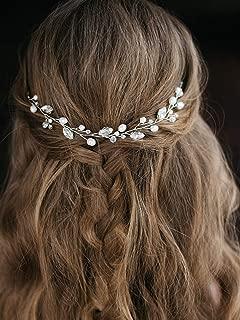 Artio Wedding Hair Vine Accessory Bridal Headpiece for Bride and Bridesmaids HV-512