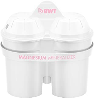 BWT Cartouche filtrante Magnesium Mineraliser 1814139pour Carafe d'eau à Filtre - Peut filtrer 120L d'eau