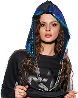 rave hoods with chain