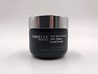 Savelle Organics Deep Moisturizing Anti-Aging Facial Cream 1.7 oz