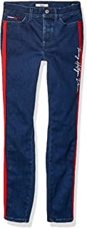 Tommy Hilfiger Adaptive Womens 7698750 Jegging Jeans with Velcro® Brand Closure and Magnetic Fly Leggings - Blue