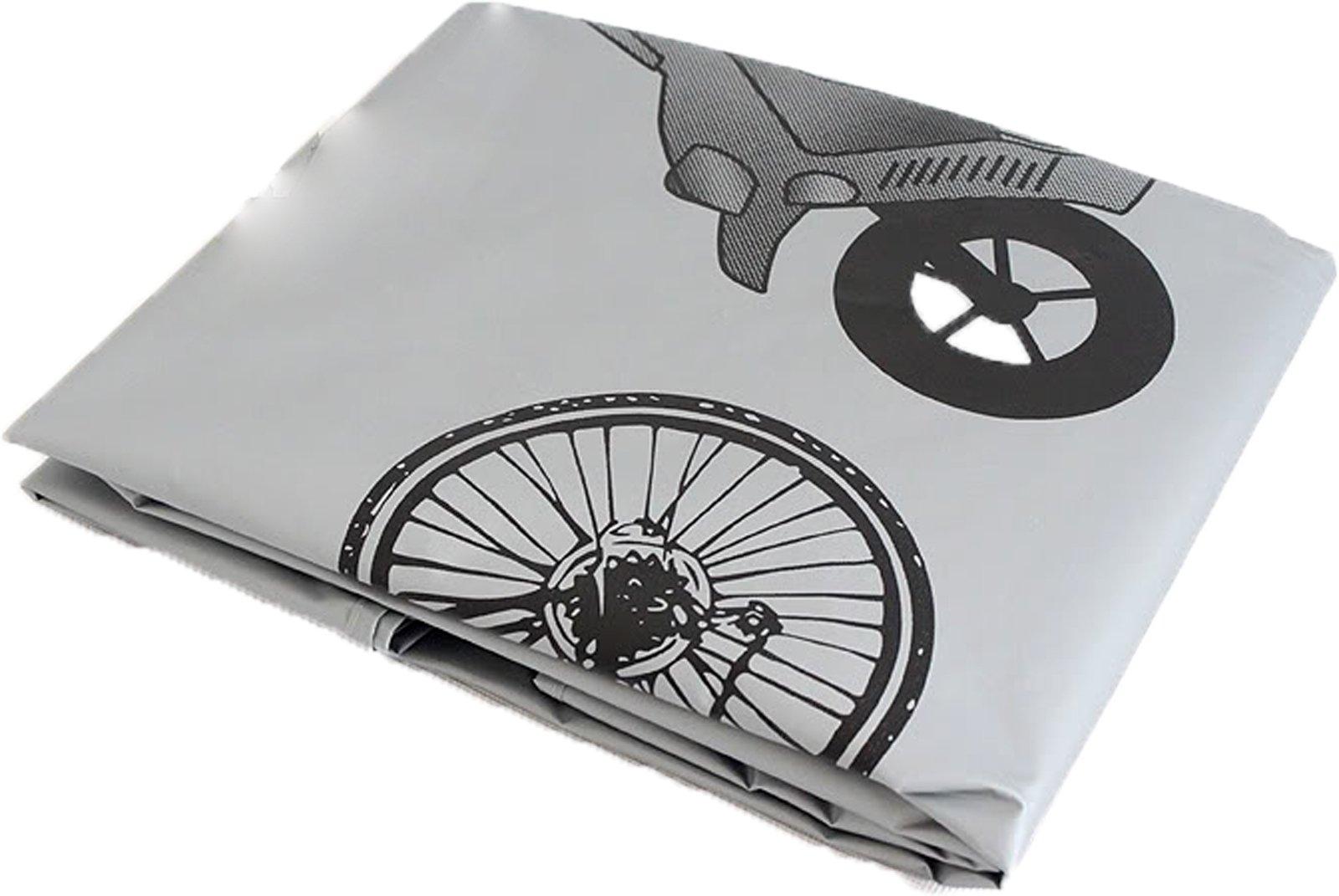 Cubrebicicleta Cubre Bicicleta y Moto Loneta Impermeable Polvo y ...