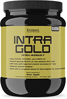 Ultimate Nutrition Intra Gold Workout Energy Supplement - Upgrade Your Endurance and Accelerate Recovery with Carnitine, O...