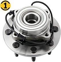 Front Wheel Bearing and Hub Assembly Fit 2003 2004 2005 Dodge Ram 3500 2500 Wheel Bearing Hub w/ABS, 8 Lugs Hub Bearing 4x4 4WD Replace 515061