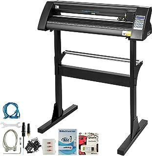 VEVOR Vinyl Cutter 28 Inch Vinyl Cutter Machine 720mm Paper Feed Vinyl Plotter Cutter Machine with Sturdy Floor Stand Viny...