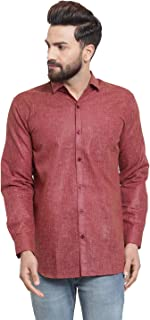 JAINISH Men's Ploy Cotton Casual Shirt