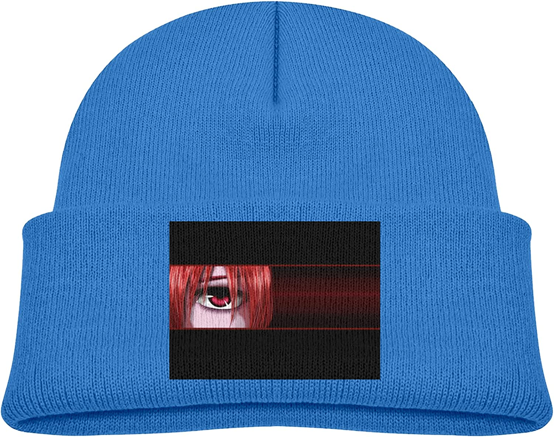 New product Vgfgtr Rare Elfen Lied Eye Funnyexquisite Ski Knit Hat Baby Anime
