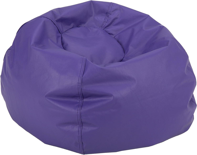 Sprogs SPG-610-202-SO Round Bean Bag Chair, Purple