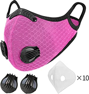 MOCOHANA Cycling Accessories with 10pcs Filters & 1 Pair...