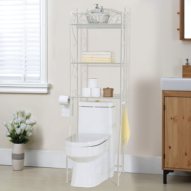 HOME BI über der Toilette Badezimmer Platzsparendes spacsaver, 20 ...