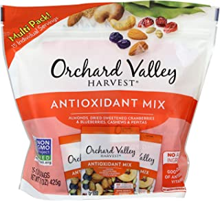 ORCHARD VALLEY HARVEST Antioxidant Mix, Non-GMO, No Artificial Ingredients, 1 oz (pack of 15)