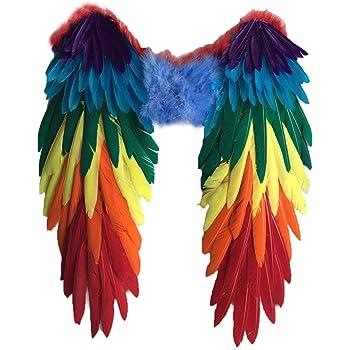 Yzki disfraz de alas de pájaro para adulto, alas de águila grande ...