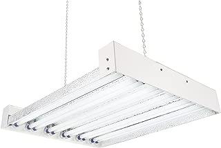 Durolux T5 HO Steel Grow Light - 2 FT 12 Lamps - DL8212T Fluorescent Hydroponic Indoor Fixture Bloom Veg Daisy Chain with Bulbs, 30K lumens, 288 Watts