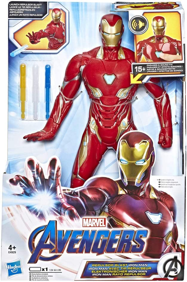 Hasbro AVN Figura Electronic Iron Man E4929105 Multicolour 1 year warranty We OFFer at cheap prices