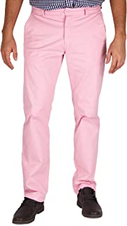 Mens Modern Stretch Fit Flat Front Casual Pants