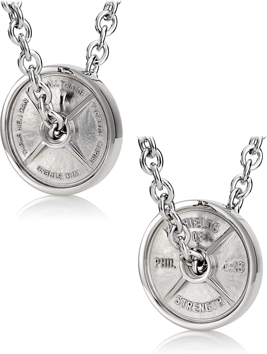 Men's Stainless Steel Jumbo Mail order Weight Linked on Necklac Popularity Plate Chain