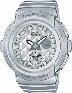 Casio Baby-G BGA195-8A Silver / Silver Resin Analog/Digital Quartz Women's Watch