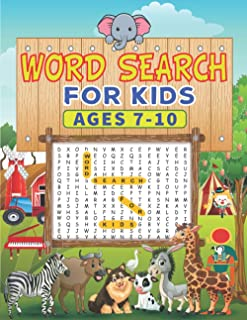 Word Search for Kids Ages 7-10: Practice Spelling, Learn Vocabulary, and Improve Reading Skills, Find Puzzle Games for Boy...