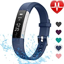 LETSCOM Fitness Tracker with Heart Rate Monitor, Slim and Smart Activity Tracker Watch with Sleep Monitor, Step Counter an...