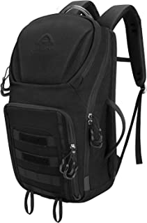 Aione Military Backpack,Tactical Backpack Army Assault Pack Molle Hydration System Rucksacks Bug Out Backpack with Hard Shell Top Pocket for Traveling,Camping,Trekking,Hiking 25L/38L