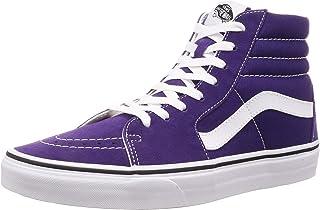 Vans Scarpe Unisex Sneakers UA SK8-HI in Tessuto Viola VN0A4BV6V7F1