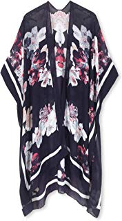 Moss Rose Women's Beach Cover up Swimsuit Kimono Cardigan...