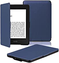OMOTON Kindle Paperwhite Case Cover – The Thinnest Lightest PU Leather Smart Cover..
