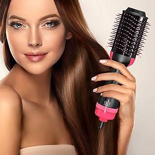 Sponsored Ad - Decorus One Step Hair Dryer Brush - Salon Grade Hair Styling Blow Dryer, Volumizer, and Hair Straightener -...