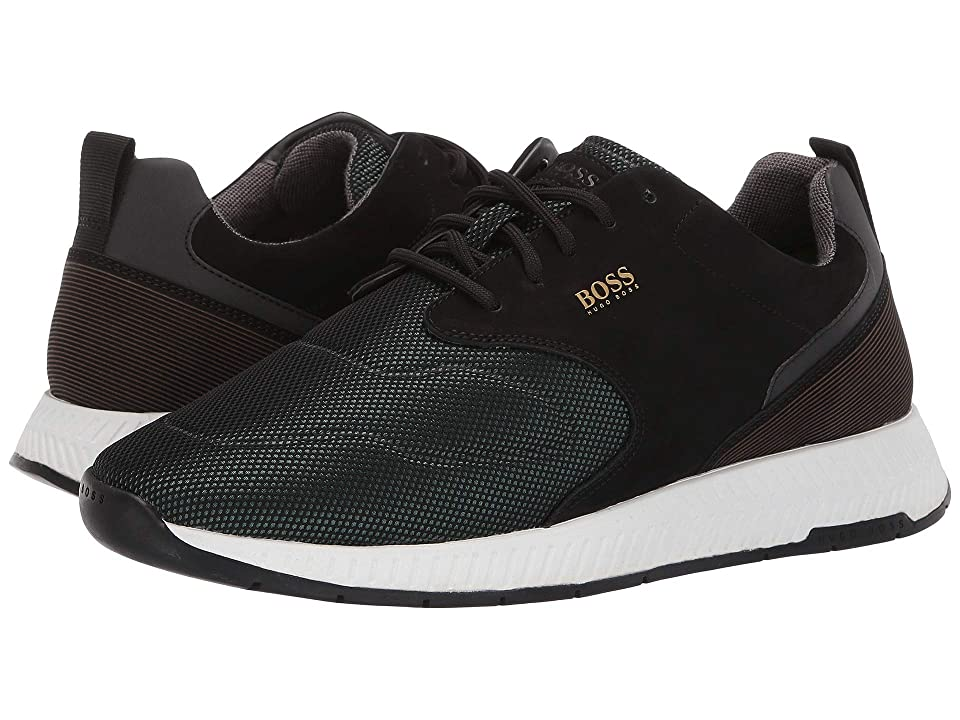 BOSS Hugo Boss Titanium Run Sneaker By BOSS (Dark Green) Men